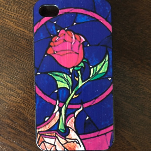 san francisco 57bd0 5a015 Disney Beauty and the Beast Rose iPhone 4/4s Case